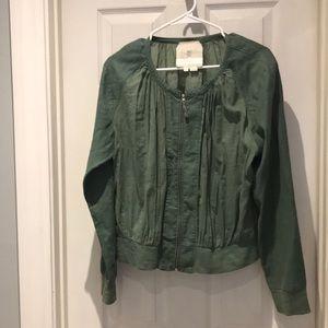 Anthropologie Hei Hei  bomber style jacket SZ L